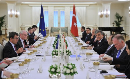 President of the European Council Herman Van Rompuy's Visit to Turkey