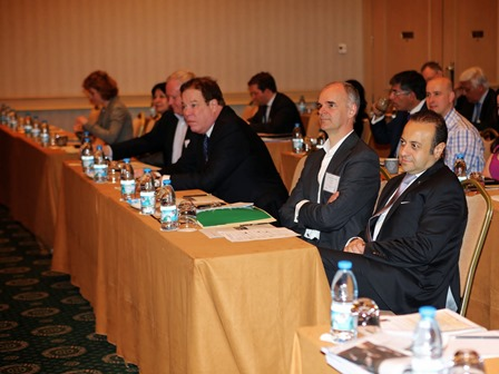 Egemen Bağış Attended the Opening of World Services Group (WSG) Panel