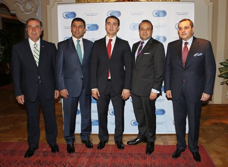 Egemen Bağış Attended the Opening of The European Azerbaijan Society Turkey Office